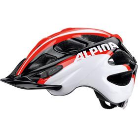 Alpina Rocky casco per bici Bambino rosso/nero